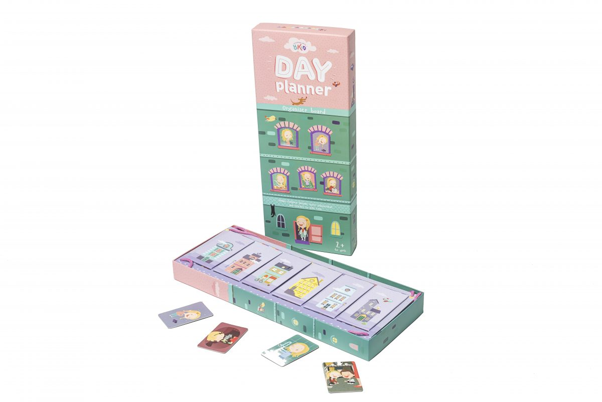 photo about Day Organizer titled Working day PLANNER organizer board for women of all ages 2+ OKID